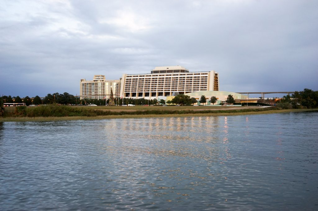 Photo of Bay Lake Tower and the Contemporary Tower, at Disney's Contemporary